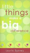 Little Things Make a Big Difference (2002, Paperback)