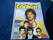 #18/19 MAY 5 1979 LOOK IN tv movie magazine BOOM TOWN RATS - SMURFS
