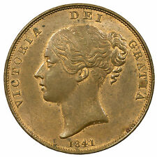 GREAT BRITAIN, VICTORIA PENNY, HIGH GRADE WITH LUSTRE, 1841