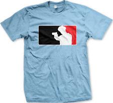 Police Officer Department Cop Pro Logo League Symbol Protect Serve Men's T-Shirt