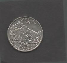 Moneta Stati Uniti United States Quarter Dollar 25 Cent 2006 D Colorado STU235