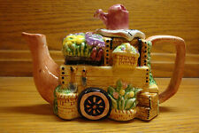 Collectible Flower Stand Shaped Teapot