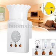 E27 PIR Infrared Sensor Motion Detector LED Light Holder Control Switch 220V