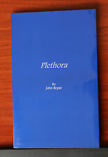 Plethora by John Repar  *signed 1995 Paperback information about lots of things
