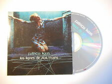 PATRICIA KAAS : LES LIGNES DE NOS MAINS [ CD SINGLE PORT GRATUIT ]