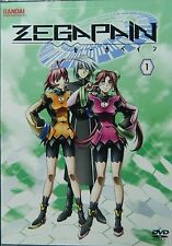 ZEGAPAIN Volume 1 The First Five Episodes Plus Extras Bandai/Sunset DVD SEALED