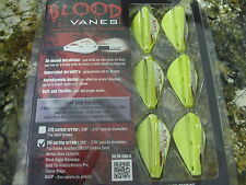 OUTER LIMIT BLOOD VANES  ORGE / GRN / YEL /  SMALL  ARROW sm carbon