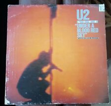 "U2 LIVE ""UNDER A BLOOD RED SKY"" 12"" Album/Record/LP Island Records 1983"