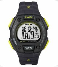 Timex Mens Ironman Core Classic 50 - Black/Yellow - Indiglo -- New In Box --
