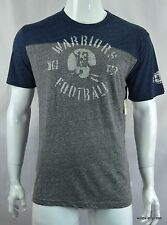 Lucky Brand Men's Graphic T shirt XL Football Lucky Warriors Tee Gray NEW NWT