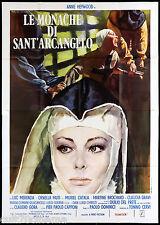 LE MONACHE DI SANT'ARCANGELO TIPO B MANIFESTO CINEMA ORNELLA MUTI 1973 POSTER 4F