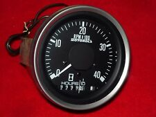 TACHOMETER 4000 RPM 24 VOLT HEAVY DUTY MOTOROLA 24HT4A ALTERNATOR TACH-HOURMETER