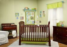Taggies 'Fun in the Jungle Collection' Baby Nursery 3-Piece Crib Bedding Set