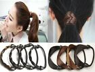 Trendy Women Braid/Straight Wig Elastic Hair Band Rope Scrunchie Ponytail Holder