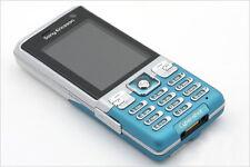 Sony Ericsson C702 Collant / Candy Bar Bleu TéléPhone Cellulaire GPS