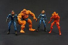 Marvel Legends Showdown Fantastic Four Lot ToyBiz Loose Action Figure 4""
