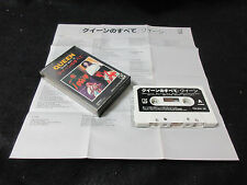 Queen Best 16 Japan Cassette Tape in 1978 Freddie Mercury Brian May