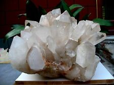 67.4lb HUGE NATURAL Clear quartz crystal cluster point Specimens
