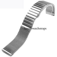MILANESE MESH STEEL BRACELET STRAP FOR OMEGA SEAMASTER SPEEDMASTER WATCH 20mm