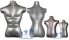 Inflatable Mannequin - Standard Family Package, Silver