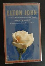 ELTON JOHN Something About the Way You Look Tonight/Candle in The Wind Cassette