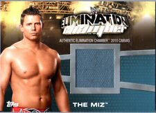 WWE The Miz EC-12 Elimination Chamber 2010 Topps Event Used Mat Relic Card