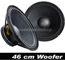 "46 cm/18"" DISCO-PA-MUSIKER-PARTY Lautsprecher Woofer"