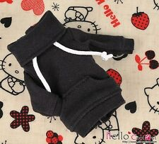 ☆╮Cool Cat╭☆ 178.【NH-A02】Blythe Pullip Lovely Clothe Pocket Top # Black