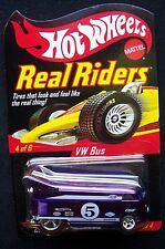 Hot Wheels RLC 2005 Volkswagen VW Drag Bus 4 Of 6 Real Riders Series 4