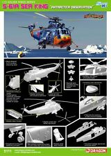 "1/72 Cyber Hobby S-61A SeaKing ""Antracticia Observation"" #5111"