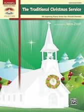 The Traditional Christmas Service: 10 Inspiring Piano Solos for Church Pianists