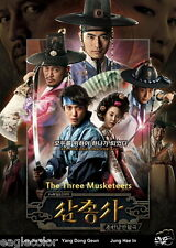 The Three Musketeers (Season 1) Korean Drama (3DVDs) Excellent English & Quality
