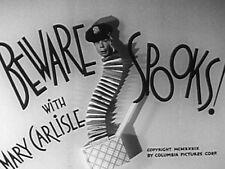 BEWARE SPOOKS! (DVD) - 1939 - Joe E. Brown, Mary Carlisle