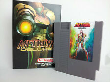 Metroid Delux - Nintendo NES Game With Box