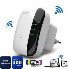 Wireless Wifi Repeater 802.11n/b/g Network Router 300Mbps Range Extender EU Plug