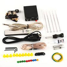 Complete Tattoo Kit Set Equipment Machine Needles Power Supply Gun Inks  LN