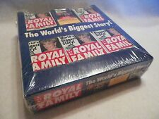 Royal Family Trading Card Unopened Jumbo Trading Card Pack Box Press Pass #NS61