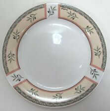 Oneida Dinner Plate Tuscan Olive Off-White Olive Design Stoneware