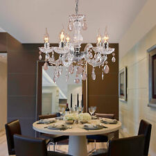 Modern Crystal Ceiling Candle lights lighting Acrylic Chandelier Pendant Fixture