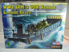 1:48 Hobby Boss #84817  WW2 LCM USN Vehicle Landing Craft KIT MIB