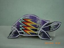 Turtle, Lakota Sioux Mountable Wall Art, Purple, Signed & Dated