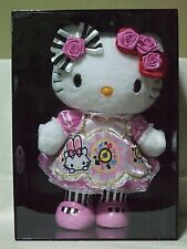 Hello Kitty 40th Alice in Wonderland Pink 30cm Big Plush Doll Sanrio 2014 NIB!