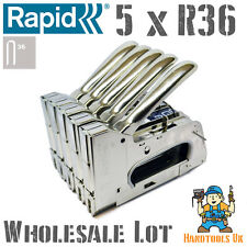 5 x Rapid R36 Hand Cable Tacker / Stapler for WHOLESALE