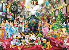 "Jigsaw Puzzles 1000 Pieces ""Disney's Christmas Party"" / Ravensburger / Disney"
