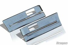Scania 4 R P G 6 Series S/S Side Step Panel Trim / Indicator Chrome Cover Type 3
