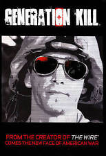 Generation Kill (DVD, 2013, 3-Disc Set) Complete with Booklet