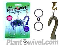 Qty 10 - Hanging Basket Plant Swivel Hook Hanger Plantswivel - Qty 10, 2 packs