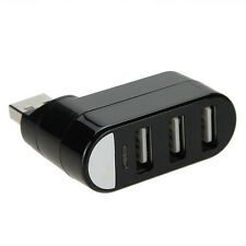 3 Port USB 2.0 Multi HUB Splitter Expansion Adapter High Speed For PC Laptop US