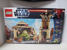 NIB 2012 Star Wars LEGO Set 9516 Jabba's Palace with Bib Fortuna, Boushh, Oola