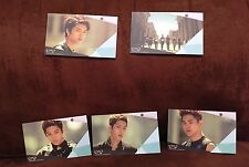 "New 5 Infinite 2nd Single Album Cards, 3.375"" by 2"", Kpop"